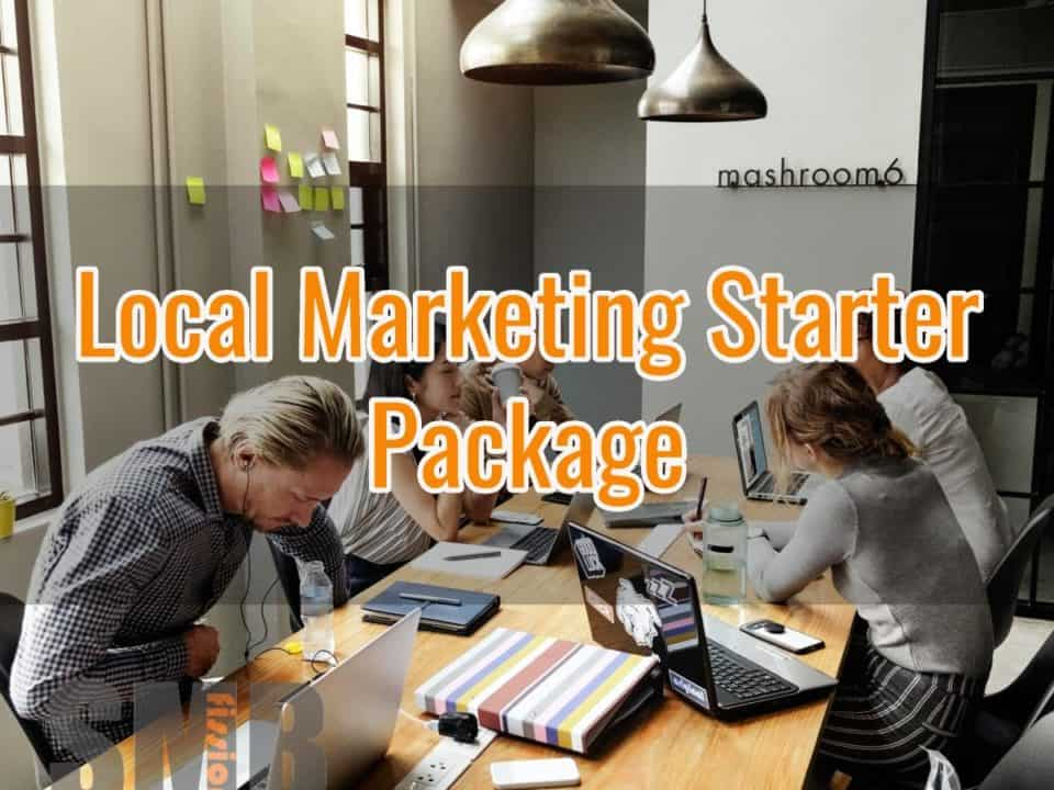 Local Online Marketing Starter Package - Small Business SMB Marketing